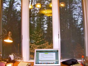 Mansfield Studio at MacDowell Colony in New Hampshire.