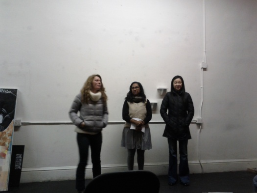 The organizers of Hazel Reading Series