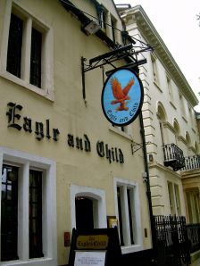 The Eagle and Child home of the Inklings